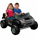 Mommy & Me 2 Seater Battery Powered Jeep Truck Hummer Style Ride On