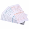 2-Sided Weekly Attendance Cards 50 Punch Card Package