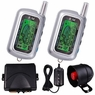 2 Way LCD Sensor Remote Security System Car Alarm
