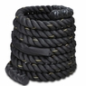 "2""x30' Poly Undulation Battling Workout Rope Black"