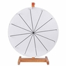 "20"" 12 Slot Table Top Spinning Dry Erase Prize Wheel"