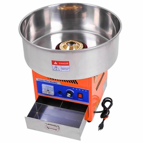 "20"" Cotton Candy Floss Machine Maker Orange"
