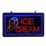 22x13 inch ICE CREAM Flashing LED Display Sign