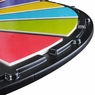 24'' Tabletop Spining Color Dry Erase Prize Wheel 16 Slot
