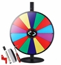 "24"" Tabletop Tripod Spinning Prize Wheel 14 Slot"