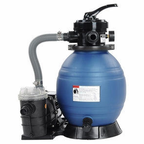 """2400 GPH Swimming Pool Pump and 13"""" Sand Filter"""
