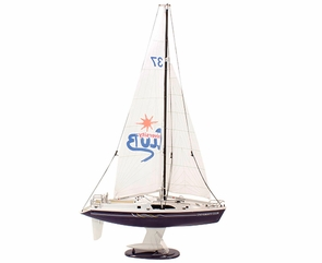 "34"" High Remote Control (RC) Sailboat Yacht - Great For Sailing"