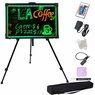 "28x20"" Illuminated Neon LED Writing Sign Board w/ Stand"