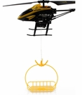 Electric Mini RC Drone Delivery Helicopter W/Motorized Transport
