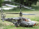 3 Channel Radio Control (RC) Apache Helicopter Is Easy To Fly