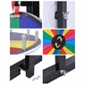 "30"" Tabletop Color Dry Erase Spinning Prize Wheel 18 Slot"
