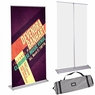 """32"""" x 79"""" Deluxe Aluminum Rollup Retractable Banner Stand"""