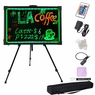"32x24"" Illuminated Neon LED Writing Sign Board w/ Stand"