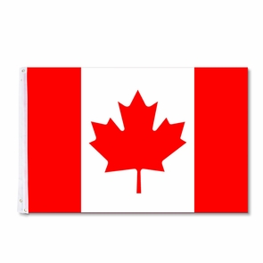 3x5 ft Canada Flag Canadian Maple Leaf For Flagpole