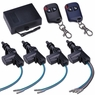 4-Door Power Automatic Door Locking Conversion Kit w/ Remote Control