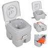 4 Gal Portable Camping Toilet Travel Outdoor Potty 15L