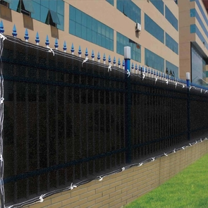 4'x50' Black Fence Screen 90% Privacy Fencing Mesh