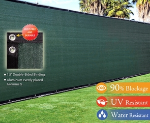 4'x50' Green Fence Screen 90% Privacy Fencing Mesh