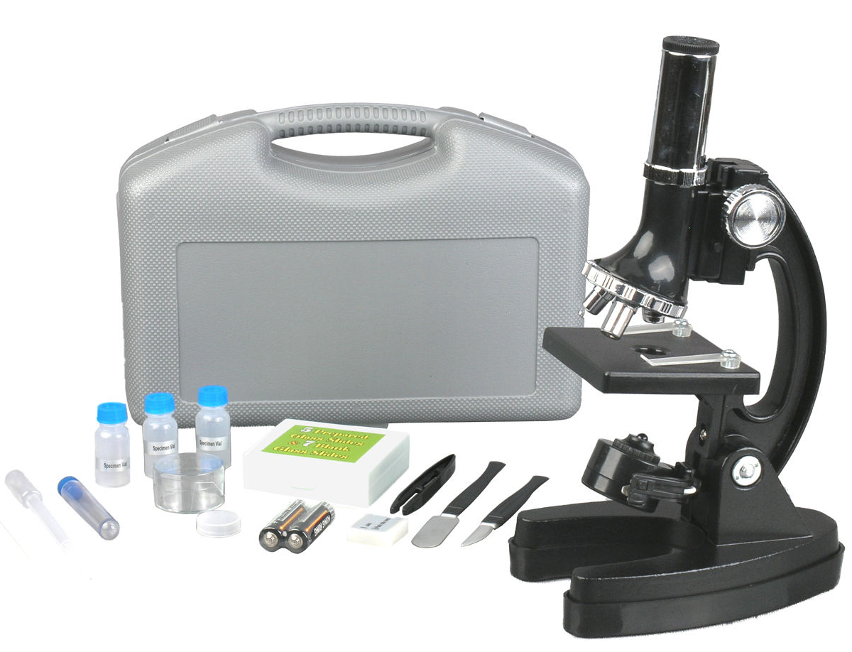 48 Piece Microscope Science Kit