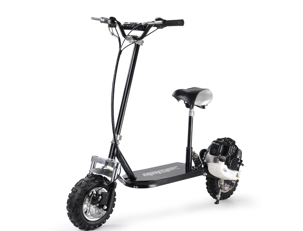 49cc EPA Approved Gas Scooters W/Suspension & 3 Speed Transmission