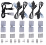 (5) 5ft Power Cord & Splice Connector for Neon Rope Light