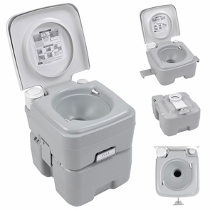 5 Gallon Portable Outdoor Camping Recreation Toilet Potty
