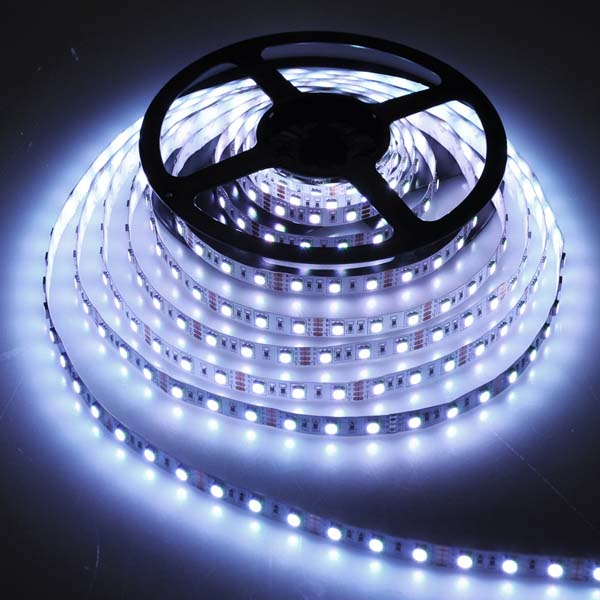 5050 smd surface mount flexible led strip light 5 meter cool white aloadofball Image collections