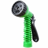 7-Pattern Garden Hose Nozzle Water Spray Gun Green