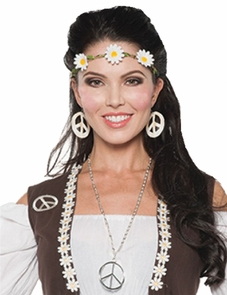 70s Headband/choker Costume
