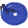 75FT Garden Expandable Water Hose With Spray Gun Blue