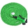 75FT Garden Expandable Water Hose With Spray Gun Green