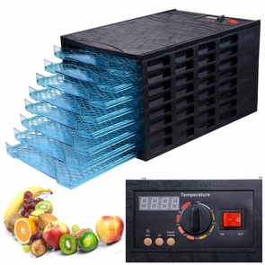 8 Tray 630W Commercial Family Food Dehydrator