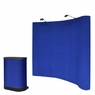 8'x8' Pop Up Portable Trade Show Display Booth w/ Counter B