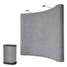 8'x8' Pop Up Portable Trade Show Display Booth w/ Counter G