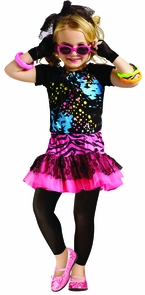 80's Pop Party Chld Todd 3-4t Costume