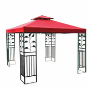 10x10 ft Gazebo Canopy Replacement Top Garden Red  sc 1 st  Trend Times Toy Stores & Gazebo Tops u0026 Canopy Replacement