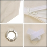 8x8 ft Garden Canopy Gazebo Top Replacement Ivory