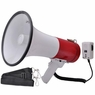 "9"" 50 Watt Bullhorn Megaphone Loud Speaker Siren with USB"