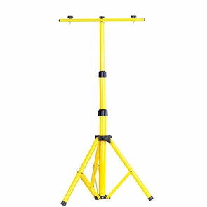 Adjustable Flood Light Fixture Tripod Stand with T Bar