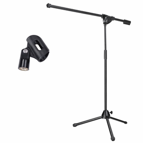 Adjustable Stage Tripod Boom Microphone Stand
