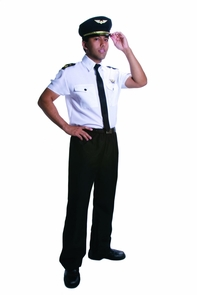 Adult Pilot Large Costume