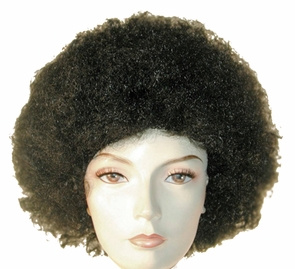 Afro Discount Red/yellow Costume