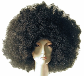 Super Deluxe Afro Wig Costume