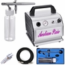Air Compressor Tanning Dual Action Siphon Feed Airbrush Kit