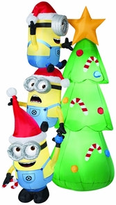 Airblown Minions Decorate Tree Costume