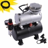 Airbrush Professional Air Compressor with Tank 1/6 HP
