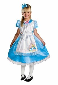 Alice Deluxe Child 7-8 Costume