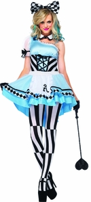 Alice Psychedelic 3 Pc Costume