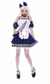 Alice Wicked Womens Large Costume
