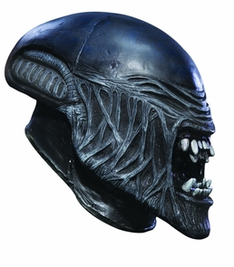 Alien Child Vinyl Mask Costume